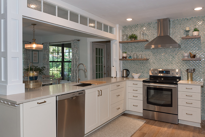 Finished kitchen by McManus