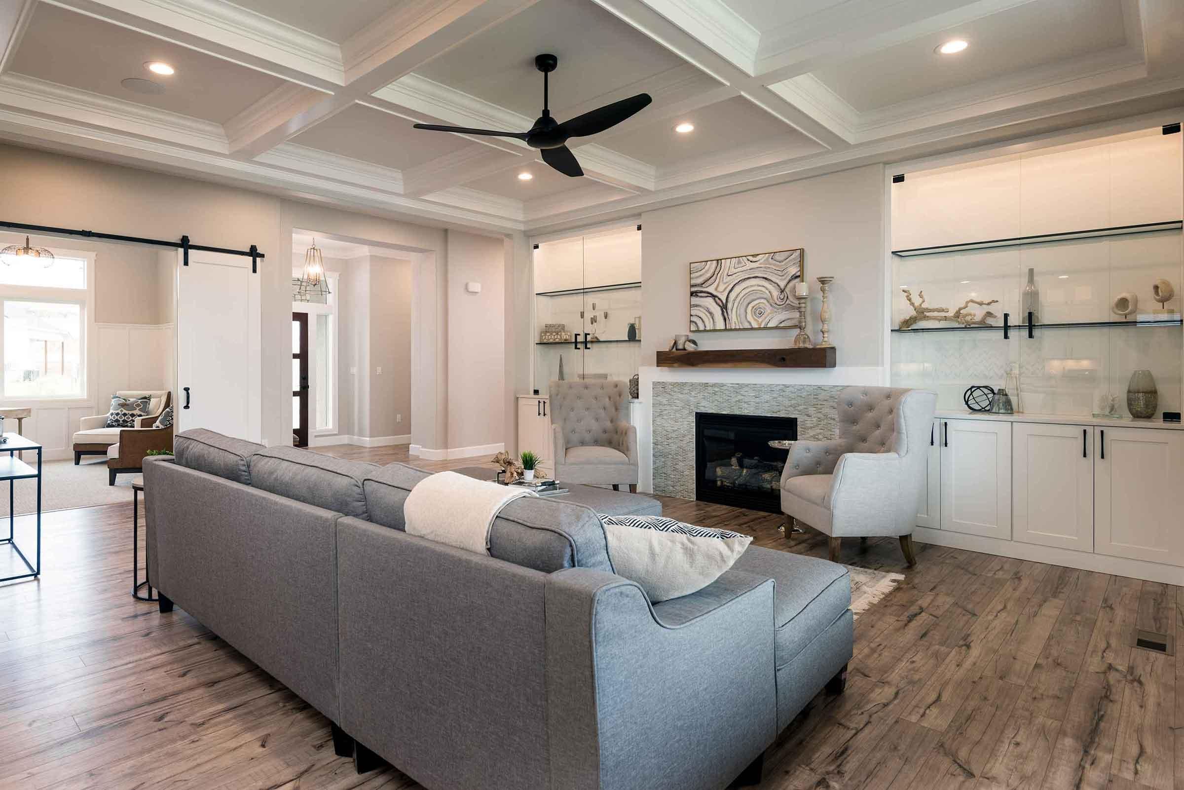 Brett Lott Homes Living Room
