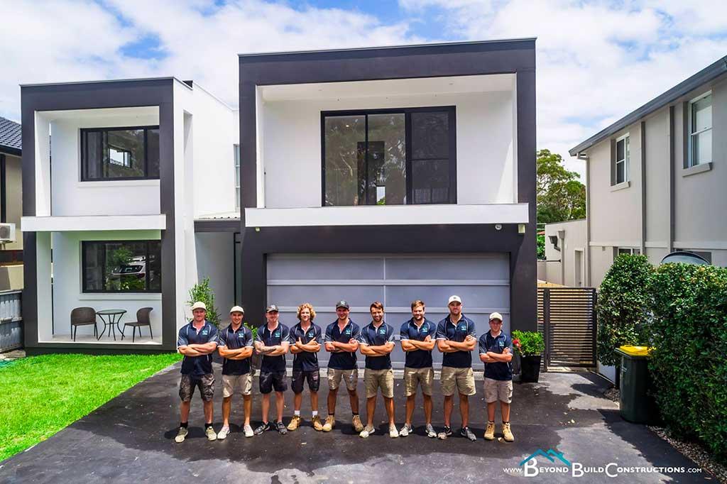 beyond build constructions team - australia