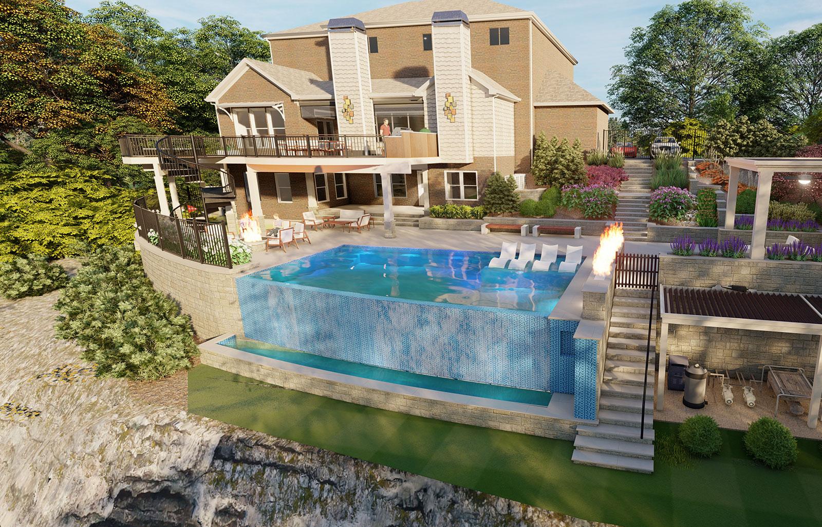 decksouth pool home