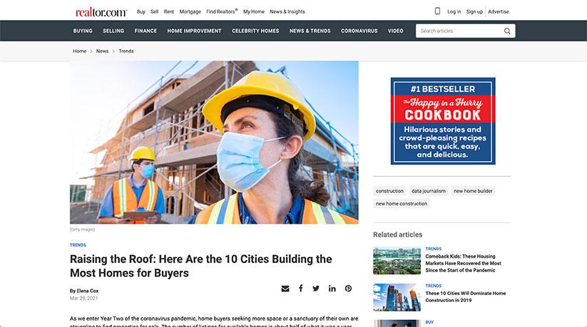 realtor home construction