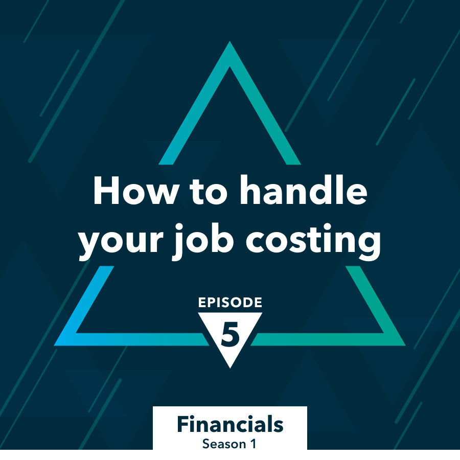 Handle job costing